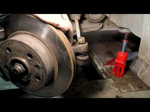 Расположение в Джип Либерти наконечника рулевой тяги