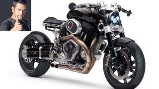 getlinkyoutube.com-Dhoni new Bike - Hellcat X132