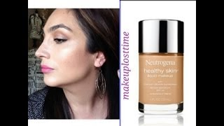 getlinkyoutube.com-My Take: Neutrogena Healthy Skin Liquid Foundation (Review)
