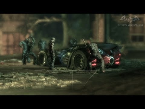 Batman: Arkham Asylum Walkthrough - Chapter 9 - The Batmobile
