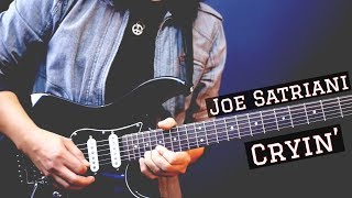 getlinkyoutube.com-Joe Satriani - Cryin' Cover by Jack Thammarat