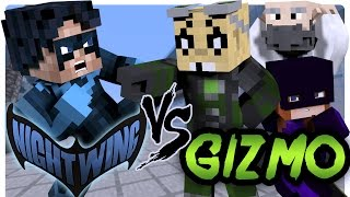 getlinkyoutube.com-Nightwing Saves Batgirl From Gizmo! (Minecraft Superhero Role Play)