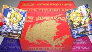 getlinkyoutube.com-Opening: MEGA GYARADOS Elite Trainer Box - Pokemon BREAKpoint TCG Cards
