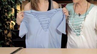 getlinkyoutube.com-Como Hacer una Camiseta de Moda, TShirt