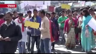 चंपावत:  स्थानीय लोगों के साथ-साथ युवा पीढ़ी ने भी लिया मतदान करने का संकल्प