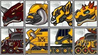 Dino Robot   Bulldozer & Excavator   Corps - Full Game Play - 1080 HD