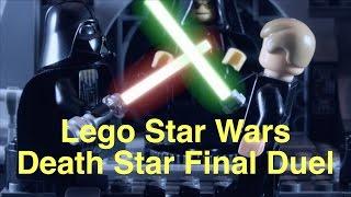 getlinkyoutube.com-Lego Star Wars - Death Star Duel