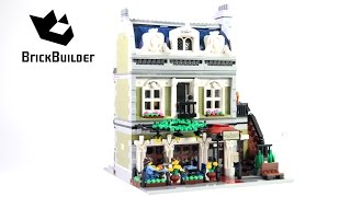 getlinkyoutube.com-Lego Creator 10243 Parisian Restaurant - Lego Speed Build