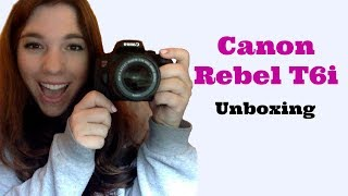 Canon T6i Unboxing the Video Creator Kit