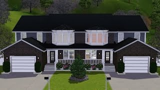 getlinkyoutube.com-The Sims 3 House Building - Attached Townhouse