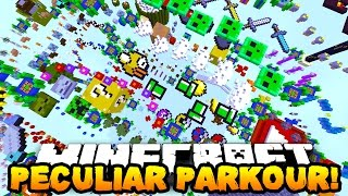getlinkyoutube.com-Minecraft PECULIAR PARKOUR! (New Jumps & Funny Moments!) w/PrestonPlayz & PeteZahHutt