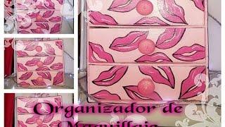 getlinkyoutube.com-DIY ORGANIZADOR DE MAQUILLAJE