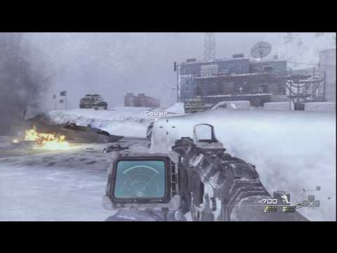 05. Call of Duty: Modern Warfare 2 - HD Veteran Difficulty Walkthrough - Cliffhanger part 2/2
