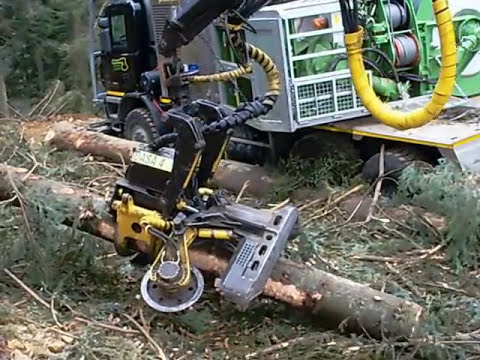 Processore forestale in Lombardia