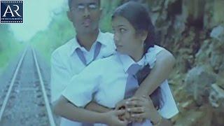 getlinkyoutube.com-10th lo Premalo Padithe Movie Scenes | Boy Kissing School Girl on Railway Track | AR Entertainments