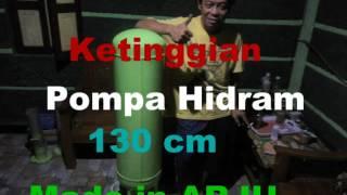 getlinkyoutube.com-Mata Air Jumbleng Penggerak Pompa Air  Hidram, Tinggi 30M Masih Muncrat