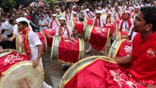 getlinkyoutube.com-Parleswar Dhol Tasha pathak, Fort cha Raja Aagman 2015 Parel - Lalbaugh by #Vivek_D