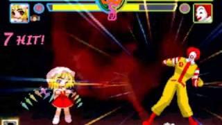 getlinkyoutube.com-Touhou MUGEN: Flandre Scarlet vs Ronald McDonald【東方】