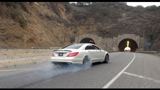 getlinkyoutube.com-900+WHP Mercedes-Benz CLS63 AMG from Hell! [Part 1]