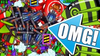 Bloons TD Battles - INSANE HOOVER STRATEGY - BLOONS TD BATTLES STRATEGY GAMEPLAY