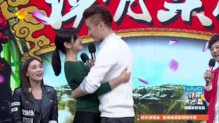 getlinkyoutube.com-Michelle chen ( 陳妍希 ) + Chen Xiao ( 陳曉 ) : Lovely Moment In HappyCamp