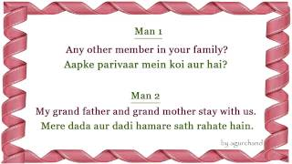 getlinkyoutube.com-Family relationship - Learn Hindi through English!