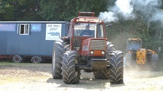 getlinkyoutube.com-Fiat 55-90, 715, 1000, 1500, 1580, 1580 DT & 1880 | Tractor Pulling Denmark