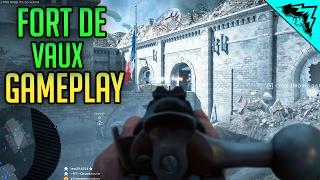 getlinkyoutube.com-Fort de Vaux Gameplay - Lebel Model 1886 Infantry Iron Sight Multiplayer LIVE