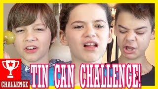 getlinkyoutube.com-THE TIN CAN CHALLENGE!  |  KITTIESMAMA