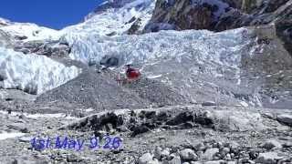 getlinkyoutube.com-Escape from Makalu  (April 2015/Nepal earthquake)