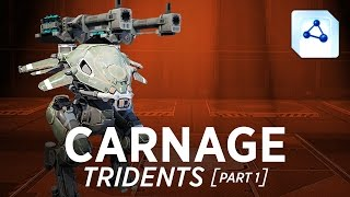 getlinkyoutube.com-Carnage Tridents - War Robots - Gameplay (Springfield) - Part 1