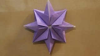getlinkyoutube.com-Origami christmas star