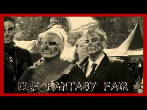 CREEPY MOVIE in  B&W elf fantasy fair 2012