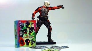 getlinkyoutube.com-Unboxing: Suicide Squad (Limited Edition inkl. Deadshot Figur + Mediabook)