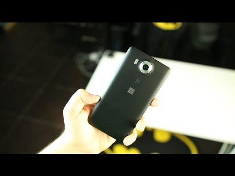مراجعة جهاز Microsoft Lumia 950