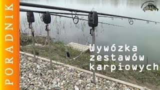 getlinkyoutube.com-Poradnik wędkarski | Trzy sposoby wywiezienia zestawów karpiowych