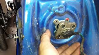 Falla en medidor de combustible Yamaha YBR 125