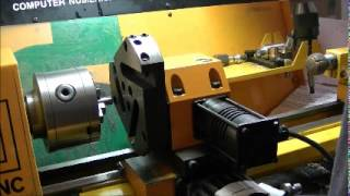 getlinkyoutube.com-Emco 5 cnc 5PC Tool Turret fitting