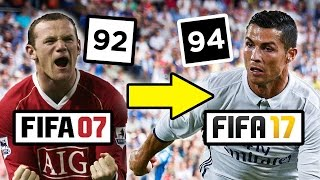 getlinkyoutube.com-How The Top Five Footballers Have Changed Since Fifa 07