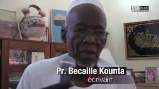 Pr  Becaye KOUNTA après avoir reçu la visite du ministre N'Diaye Ramatoulaye Diallo