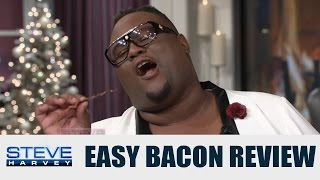 getlinkyoutube.com-James Wright Chanel: This bacon is stupid good! || STEVE HARVEY