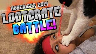 getlinkyoutube.com-BATTLE BOX! | Loot Crate Unboxing [November 2014]