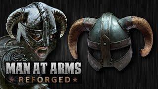 getlinkyoutube.com-Dragonborn's Iron Helmet (Skyrim) - MAN AT ARMS: REFORGED