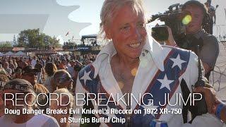 getlinkyoutube.com-Doug Danger Breaks Evel Knievel's Record in Sturgis - MotoUSA