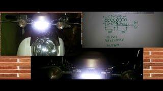 getlinkyoutube.com-Cara Buat Lampu HeadLamp LED Motor 8 Watt