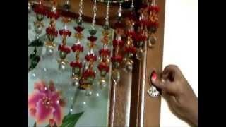 getlinkyoutube.com-How to make a kundan motif to decorate the pooja room