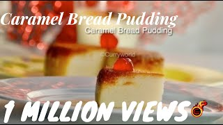getlinkyoutube.com-Easy Caremel  Bread Pudding Without Oven /Steamed Bread Pudding .Recipe no83
