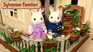 getlinkyoutube.com-Чем украсить домик Sylvanian Families? Садовый декор и Кухонный гарнитур для бабушки и дедушки