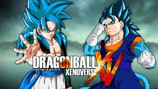 getlinkyoutube.com-SSGSS4 Gogeta VS SSGSS4 Vegito   Dragon Ball Xenoverse MODS (Duels)