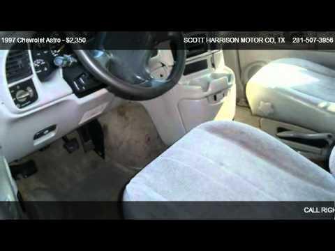 Chevy astro 1997 motor mounts 1997 chevrolet astro for Scott harrison motors houston tx